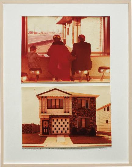 Dan Graham - Homes for America: Family in Highway Restaurant, Jersey