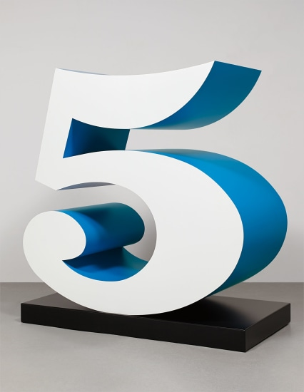 Five from the series Numbers One through Zero