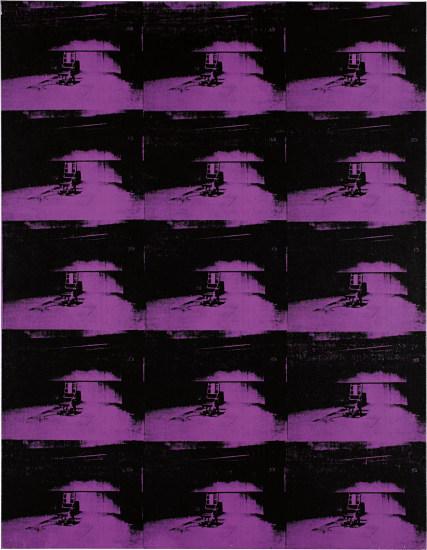 Andy Warhol, 'Lavender Disaster', 1963