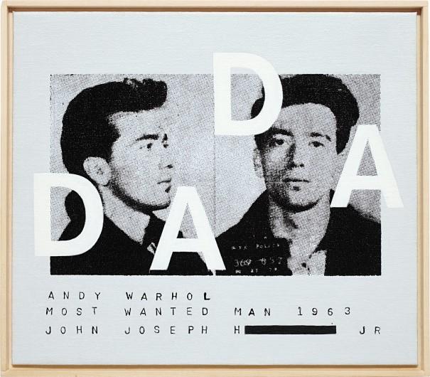 Andy Warhol, Most Wanted Man #II, 1963, DADA