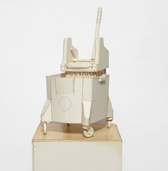 Untitled (Mop Bucket and Wringer)