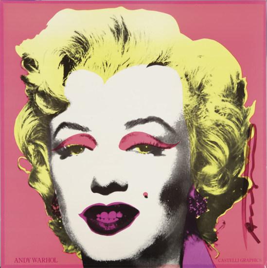 Castelli Gallery Marilyn Invitation