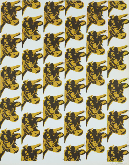 Andy Warhol, Cow Wallpaper