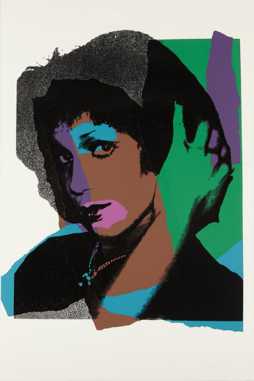 Andy Warhol - Ladies and Gentlemen: one plate, 1975 | Phillips