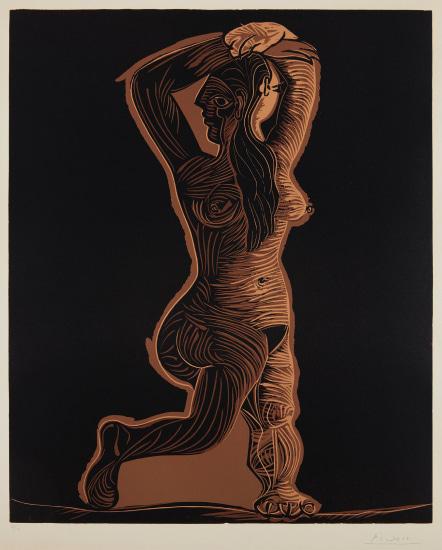 Grand nu de femme (Large Nude Woman)