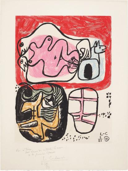 Le Corbusier - Unité: plate 10, 1963 | Phillips