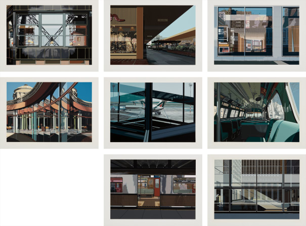 Richard Estes Urban Landscapes No 3 1981 Phillips