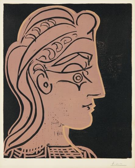 Tête de femme (de profil) (Head of a Woman - in Profile)