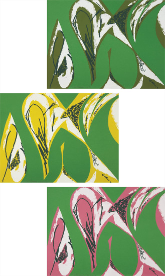 Lee Krasner - Free Space: [Green]