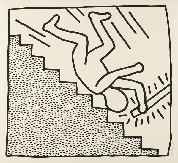 6ca88e5a Keith Haring - Blueprint Drawing #16, 1990 | Phillips