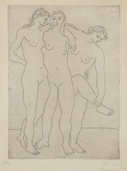 Les trois baigneuses III (Three Bathers III)