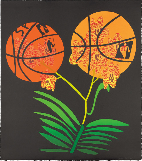 Double Basketball Orchid (State II)