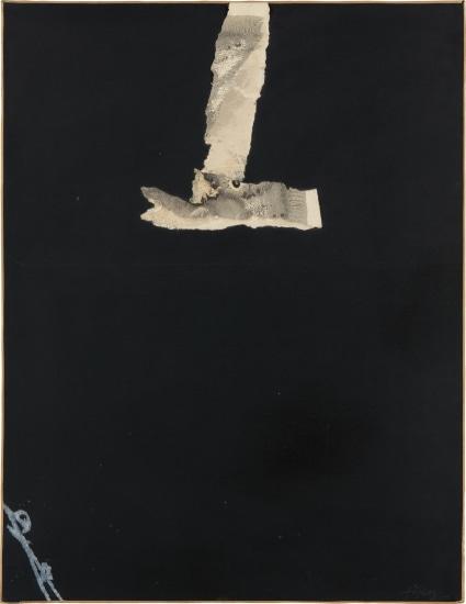 Collage noir (Black Collage)