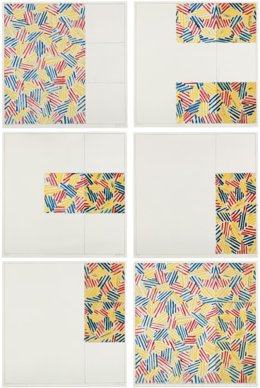 """6 Lithographs (after """"UNTITLED 1975"""")"""