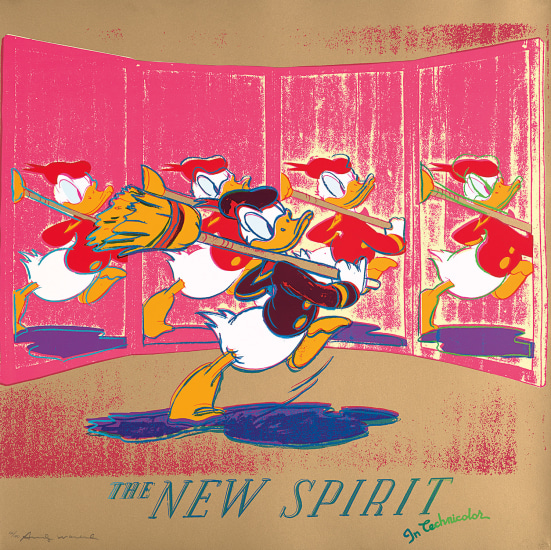 The New Spirit (Donald Duck), from Ads