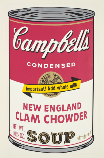 New England Clam Chowder, from Campbell's Soup II