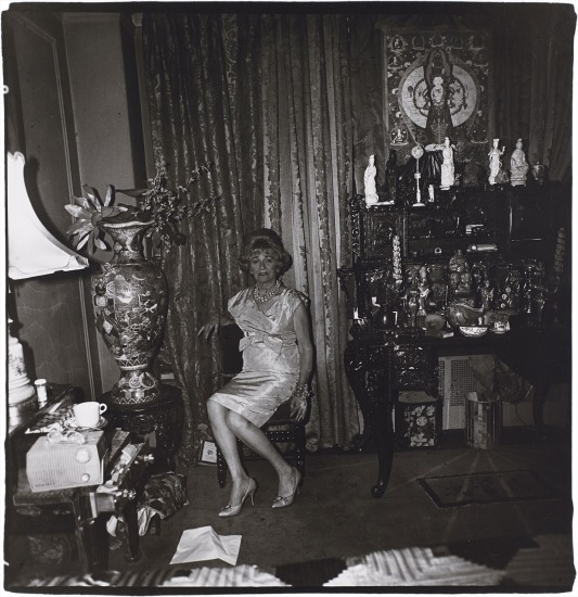 A widow in her bedroom on 55th St., NYC