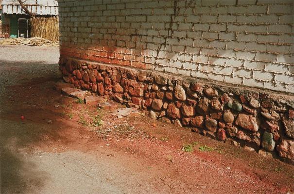 Untitled (Side of brown stone wall, Arizona)