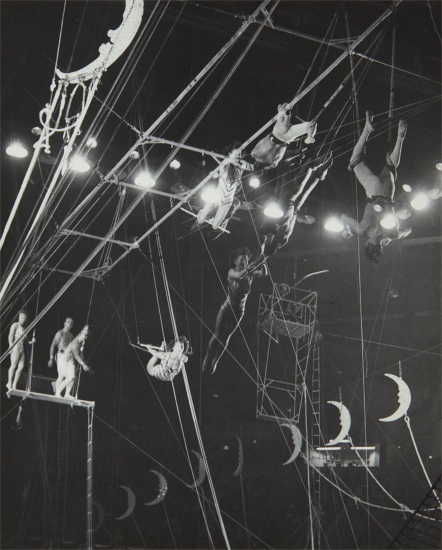 Circus trapeze acts