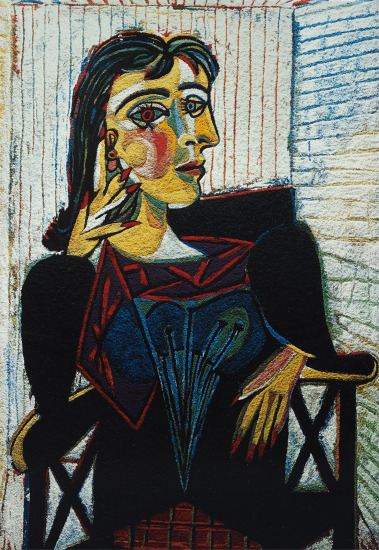 Dora Maar Seated, after Picasso from Pictures of Pigment