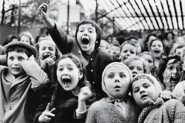 Children at a Puppet Theatre, Paris