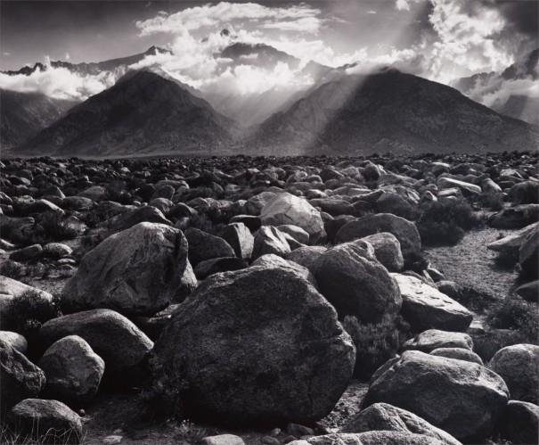 Mount Williamson, Sierra Nevada from Manzanar, California