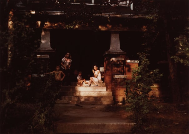 Untitled (Family on porch)