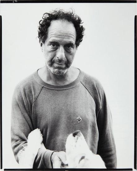 Robert Frank, photographer, Mabou Mines, Nova Scotia, July 17