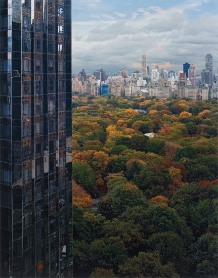 View of Central Park from the East