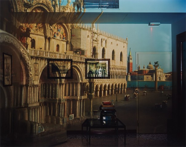 Upright Camera Obscura Image of the Piazzeta San Marco Looking Southeast in Office