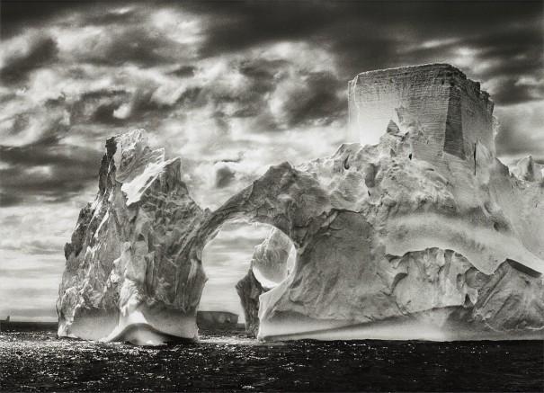 Iceberg Between the Paulet Islands and the Shetland Islands, Antarctica