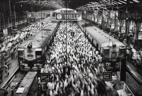 Churchgate Station, Western Railroad Line, Bombay, India