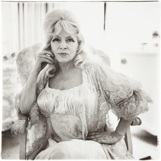 Diane Arbus - Mae West in a Chair at Home, Santa Monica, Cal ...