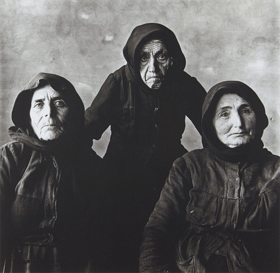 Three Cretan Women (Without Rope), September