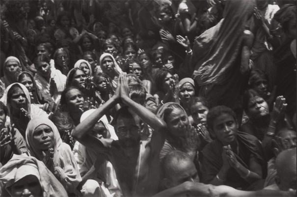 Funeral of the Bhagwan Sri Ramana Maharshi, Tiruvannamalai, India