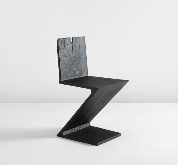 Excellent Maarten Baas Zig Zag Chair From The Where Theres Smoke Short Links Chair Design For Home Short Linksinfo