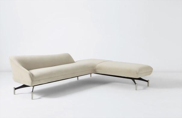 Fantastic Vladimir Kagan Swan Back Sofa Model No 507 Circa 1960 Download Free Architecture Designs Intelgarnamadebymaigaardcom