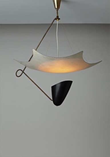 Rare early ceiling light