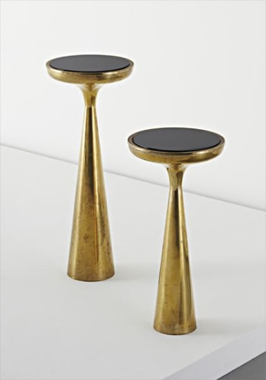 Two side tables, model no. 2221