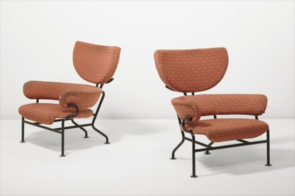 Pair of armchairs, model no. PL19