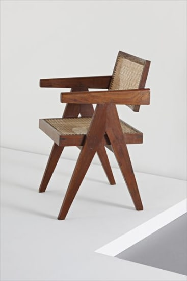 """""""Conférence"""" armchair, from Chandigarh, India"""