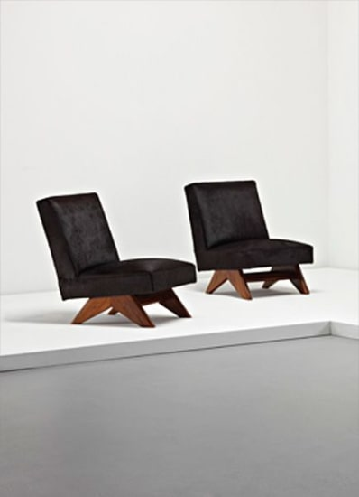 Pair of chairs, from Chandigarh, India