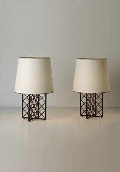 "Pair of ""Tour Eiffel"" table lamps"