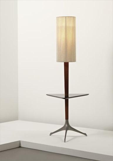 """Rare """"Tri-symmetric"""" floor lamp"""