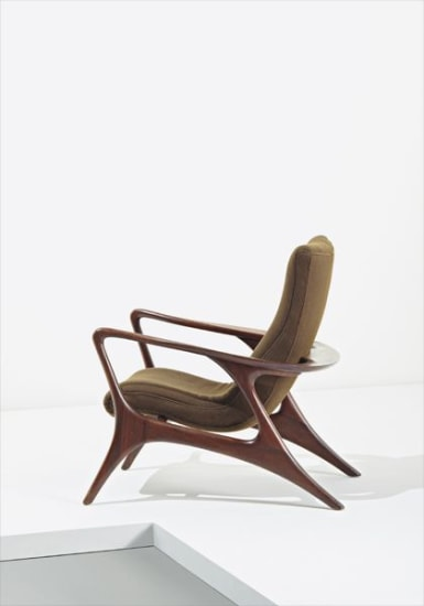 """Contour"" lounge chair"