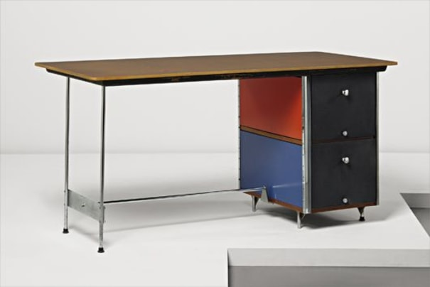 """""""Eames Storage Unit"""" desk, model no. D-10-C"""