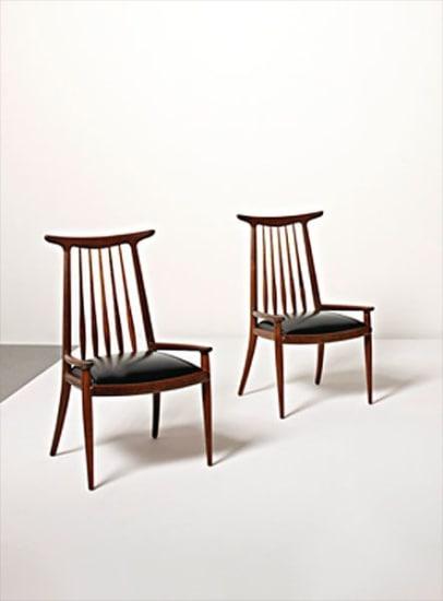 "Pair of ""Hornback"" armchairs"