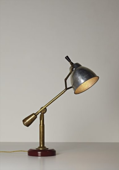 """Type A"" counterbalance table lamp"