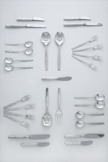 """""""Discovery"""" flatware service"""