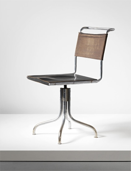 Remarkable Marcel Breuer Early Swivel Chair Model No B7 Designed Beatyapartments Chair Design Images Beatyapartmentscom
